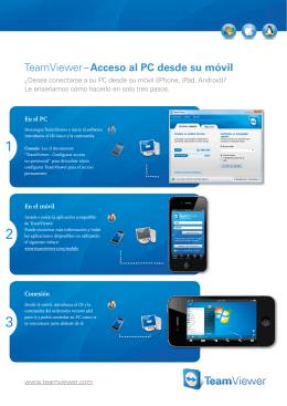 TeamViewer – Acceso al PC desde su móvil