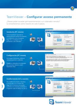 TeamViewer – Configurar acceso permanente