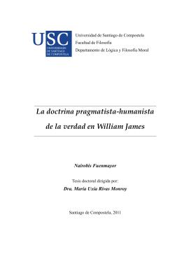 La doctrina pragmatista-humanista de la verdad en William James