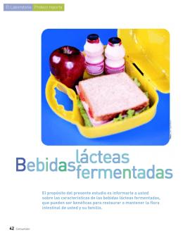 Bebidas lácteas fermentadas