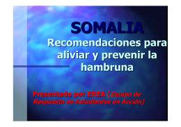 Ubicación de Somalia