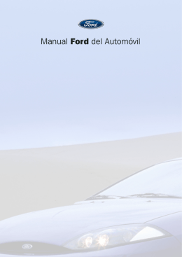 Manual Ford del Automóvil - Diagramasde.com
