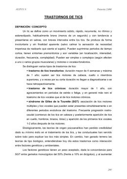 Protocolos de la Asociación Española de Psiquiatría Infanto