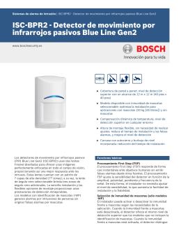 Detector de movimiento por infrarrojos pasivos Blue Line Gen2