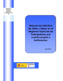 Manual de Solicitud de Altas y Bajas en el