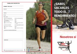 Descarga aquí tu ficha de inscripción Zenit Runners by Isabel Macías