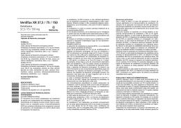 Venlifax XR 37,5 / 75 / 150