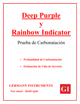 Deep Purple y Rainbow Indicator