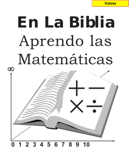 biblia mat - Sector Matemática
