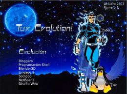 Tux Evolution