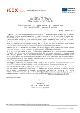 Convocatoria y Anexos DESIGN SPAIN VII Dallas sin firma
