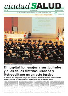 El hospital homenajea a sus jubilados y a los de los distritos