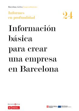 Título Informe - Barcelona Activa