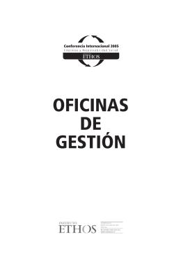 OFICINAS DE GESTIÓN