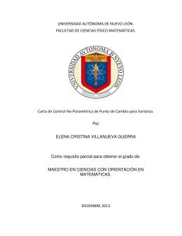 UANL, E. Cristina Villanueva Guerra, diciembre 2013