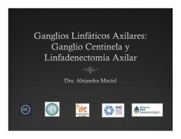 ganglio centinela y linfadenectomía axilar