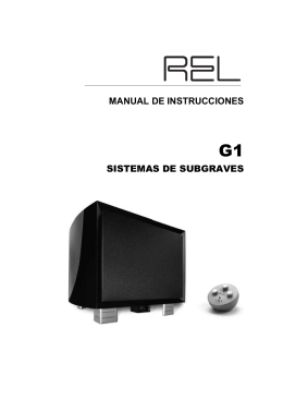 MANUAL G1 - Sarte Audio