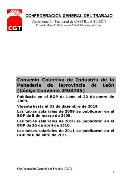 CONVENIO en PDF - CGT Castilla y León