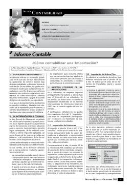 Informe Contable.indd - Revista Asesor Empresarial