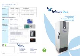 Ultra congeladores -45oC & -86oC Verticales & Horizontales De