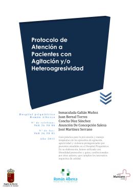 Protocolo de Atención a Pacientes con Agitación y/o
