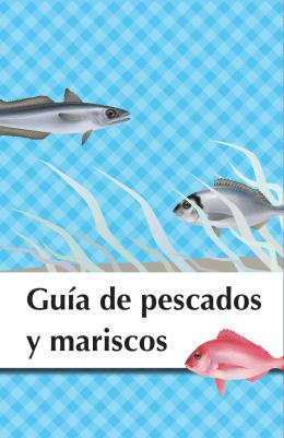 Guía de pescados y mariscos