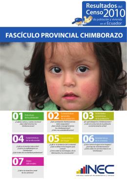 FASCÍCULO PROVINCIAL CHIMBORAZO