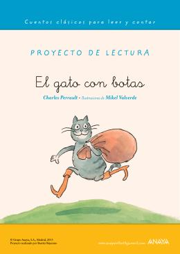 El gato con botas. Proyecto de lectura