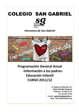 Colegio San Gabriel Madrid