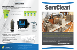 ServClean - Charlotte Products
