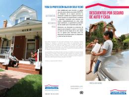 descuentos por seguro de auto y casa