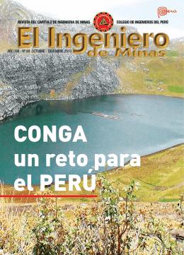 EL INGENIERO DE MINAS/ Revista del Capítulo de Ingeniería de