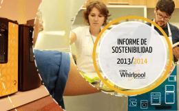Whirlpool Latin America | Informe de Sostenibilidad 2013