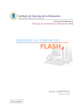 Animación en Internet con Flash - Instituto de Ciencias de la