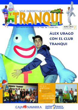 Álex Ubago con el Club Tranqui