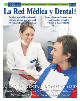 ATENCION DENTAL DE MEGASALUD