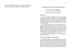 LA RIQUEZA MOLECULAR DE C/HALE