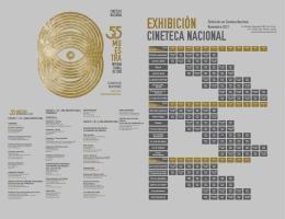 la programación - Cineteca Nacional