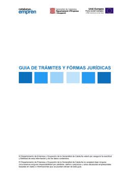 GUIA DE TRÁMITES Y FÓRMAS JURÍDICAS