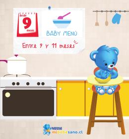 baby menu 9 meses