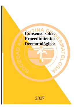 Consenso Procedimientos Dermatológicos