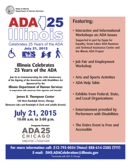 ADA 25 - State of Illinois