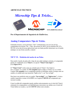 Microchip Tips & Tricks