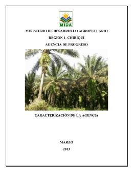 Agencia de Progreso - Ministerio de Desarrollo Agropecuario