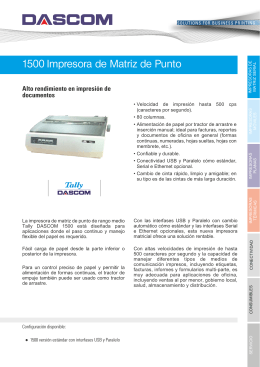 Ficha Técnica 1500