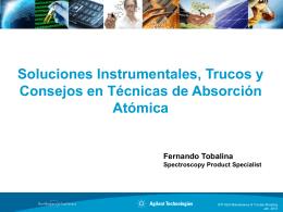 Soluciones Instrumentales, Trucos y Consejos en Técnicas de