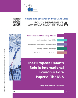 Paper 8: The IAIS - European Parliament