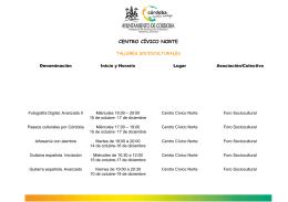 CENTRO CÍVICO NORTE - Córdoba
