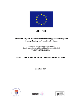 final technical implementation report