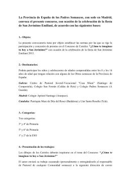 La Provincia de España de los Padres Somascos, con sede en